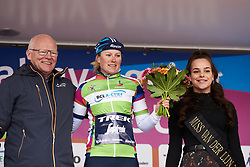 Lotta Lepistö (FIN) retains points jersey at Healthy Ageing Tour 2019 - Stage 2, a 134.4 km road race starting and finishing in Surhuisterveen, Netherlands on April 11, 2019. Photo by Sean Robinson/velofocus.com