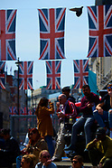 051818 Royal Wedding of Prince Harry and Meghan Markle - London atmosphere