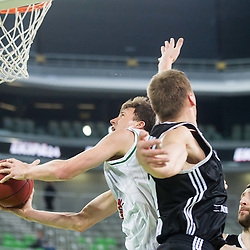 20141217: SLO, Basketball - EuroCup 2014/15, KK Union Olimpija vs VEF Riga