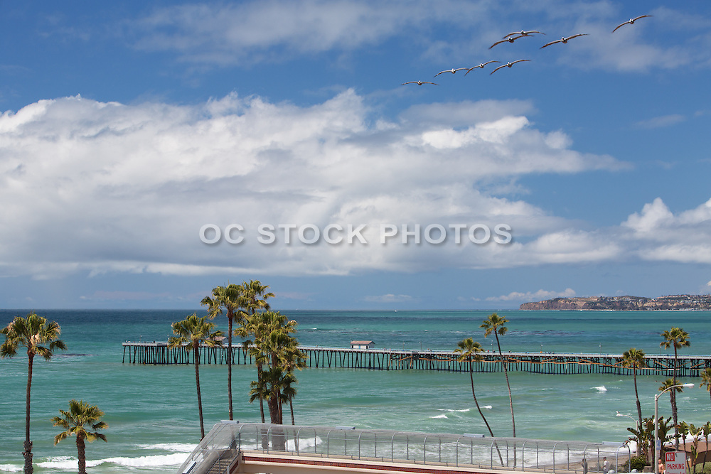 T-Street And San Clemente Pier Looking Towards Dana Point