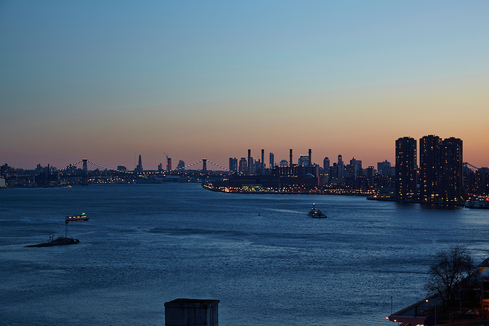View of the East River from 435 East 52nd Street, 12th floor