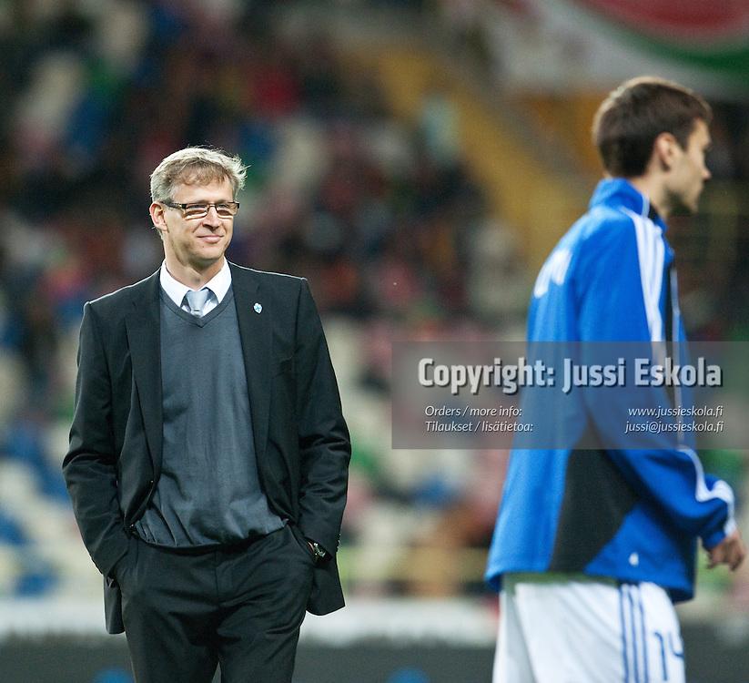 Markku Kanerva. Portugali - Suomi. A-maaottelu. Aveiro, Portugali 29.3.2011. Photo: Jussi Eskola