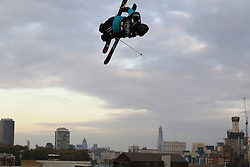 © Licensed to London News Pictures. 28/10/2011, London, UK.  Norway's Oystein Braaten jumps during the International Freeski competition at the Freeze Snowboard and Ski Festival at Battersea Power Station in London, Friday, Oct. 28, 2011. Photo credit : Sang Tan/LNP