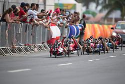 H4, Cycling, Road Race à Rio 2016 Paralympic Games, Brazil