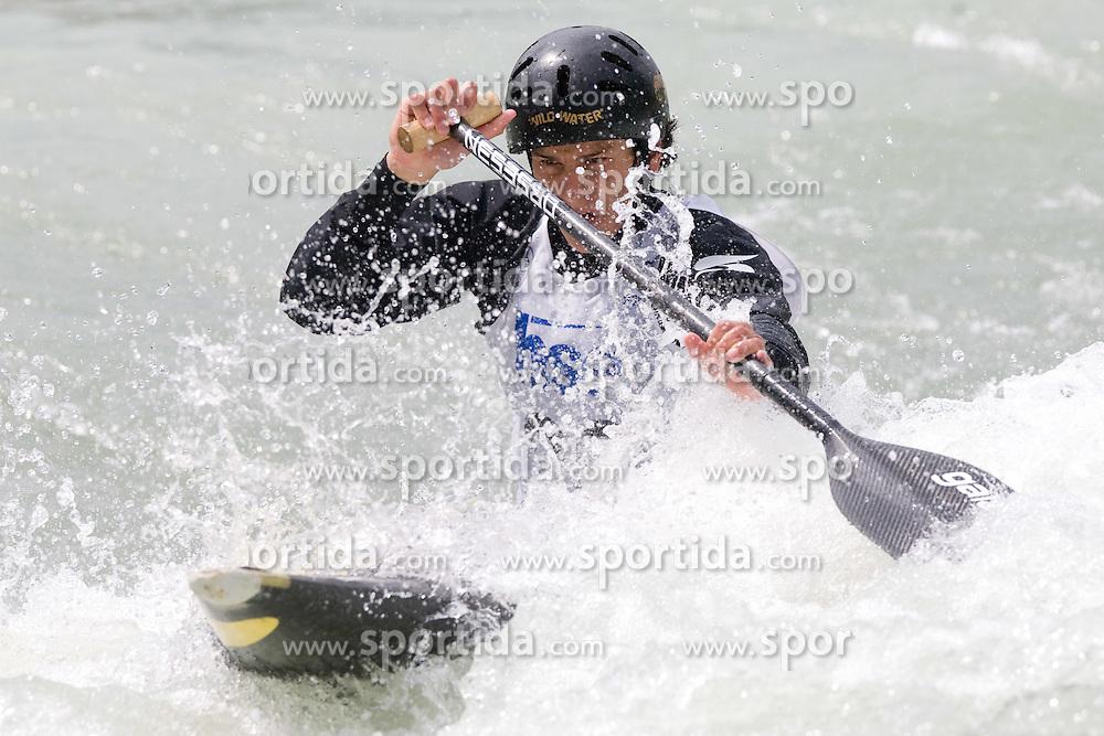 Anze Bercic of KKK Tacen competes in the Men's Canoe Single C-1 at kayak & canoe slalom race on May 9, 2010 in Tacen, Ljubljana, Slovenia. (Photo by Vid Ponikvar / Sportida)