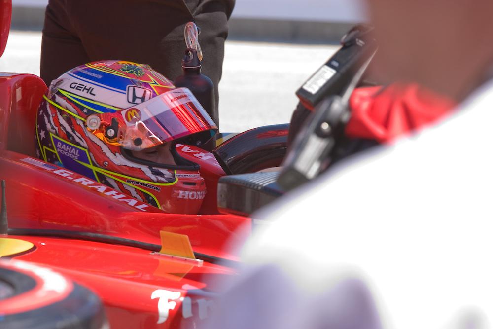 #02 Mc Donald's Racing Team Newman/Haas/Lanigan Racing. Long Beach Grand Prix 04/25/09.
