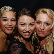 Huwelijk Adri Ulfman en Greet Bouterse, Diva's of Dance, Linda Estelle, Anita Doth en Desiree Manders