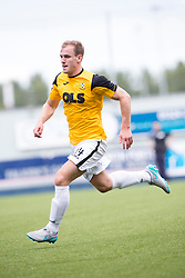 East Fife's Graeme MacGregor. Falkirk 3 v 1 East Fife, Petrofac Training Cup played 25th July 2015 at The Falkirk Stadium.