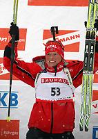 Skiskyting<br /> 05.01.2008<br /> Foto: imago/Digitalsport<br /> NORWAY ONLY<br /> <br /> Tora Berger - Norge - Siegerin des Sprints von Oberhof