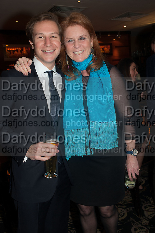 DAVE CLARKE; THE DUCHESS OF YORK, Chinese New Year dinner given by Sir David Tang. China Tang. Park Lane. London. 4 February 2013.