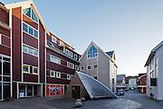 Diverse bygninger Fosnavåg sentrum.