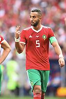 Mehdi Benatia (Marokko)<br /> Moskau, 20.06.2018, FIFA Fussball WM 2018 in Russland, Vorrunde, Portugal - Marokko 1:0<br /> Norway only