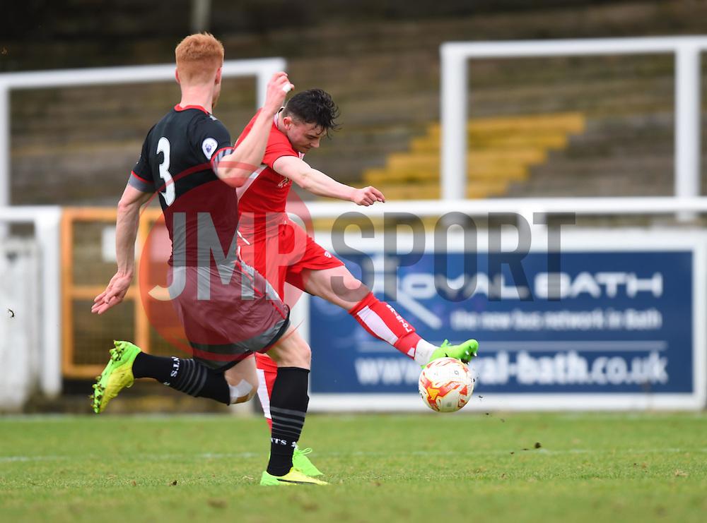 Cameron Pring of Bristol City U23 - Mandatory by-line: Paul Knight/JMP - 16/02/2017 - FOOTBALL - Twerton Park - Bath, England - Bristol City U23 v Southampton U23 - Premier League 2 Cup