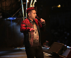 June 15, 2018 - Brazil - Brazilian singers Henrique & Juliano perform too many fans and guests at Rodeo Americana, the biggest Sertanejo festival. (Credit Image: © Leco Viana/Pacific Press via ZUMA Wire)