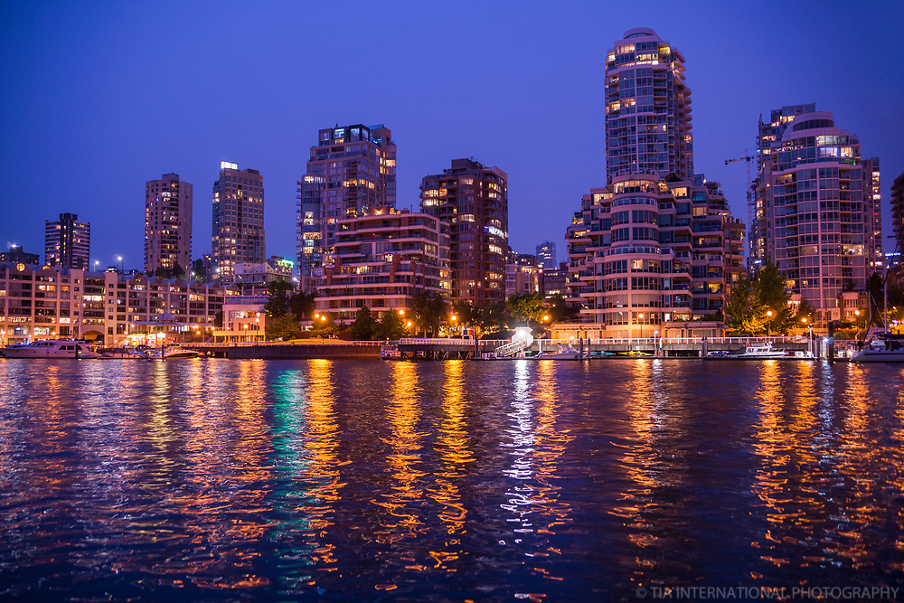 Yaletown & False Creek, Blue Hour