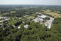 Aerial photograph of Longwood Gardens, Chadds ford, Pennsylvania