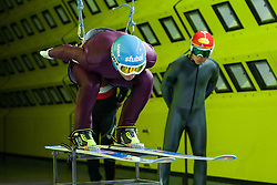 19.10.2013, Klima Wind Kanal, Wien, AUT, OESV, Nordische Kombination Skisprungtraining im Wind Kanal, im Bild Willi Denifl // during the Skijump training in the Climatic Wind Tunnel, Austria 20131019. EXPA Pictures © 2013, PhotoCredit: EXPA/ Sascha Trimmel