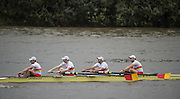 Hammersmith, Greater Game, London, UK. TIDEWAY SCULLERS SCH II<br /> Sen 4- competing in the 2015 Fours Head of the River Race, River Thames [ opposite Chiswick Eyot]  Saturday  07/11/2015 <br /> <br /> [Mandatory Credit: Peter SPURRIER: Intersport Images]