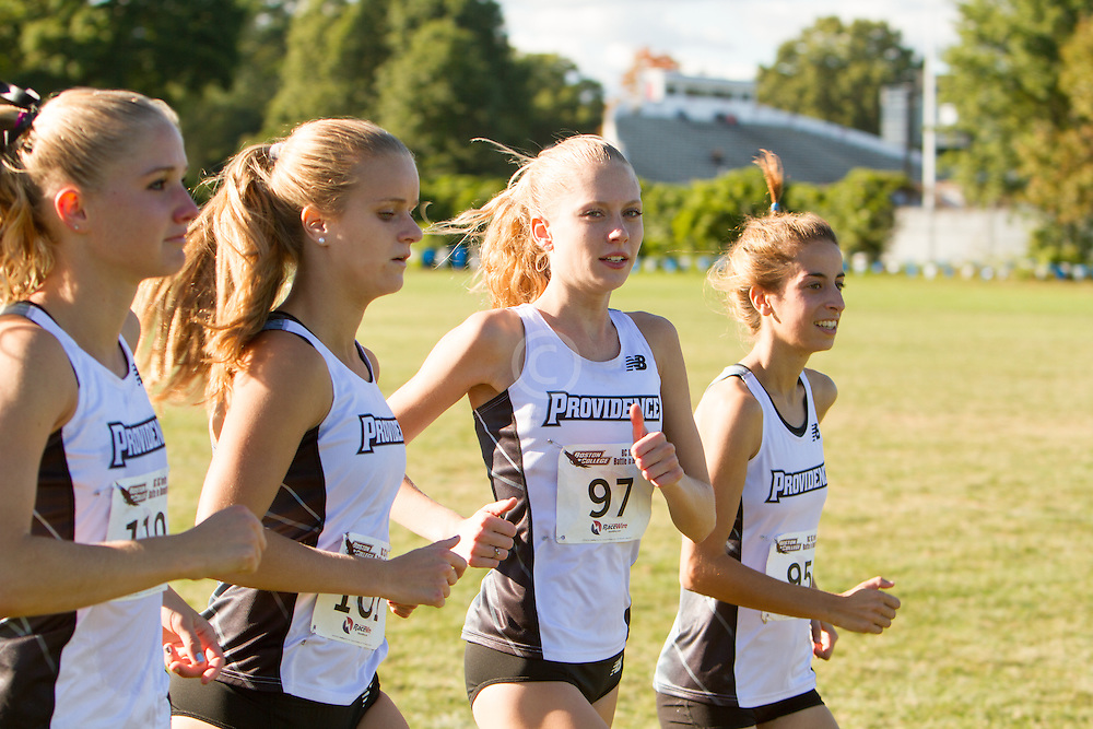 Boston College Invitational Cross Country race at Franklin Park; Providence runners