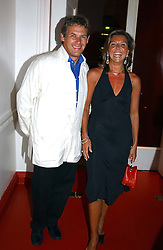 CHARLES GORDON-WATSON and BEATRICE HAYEN at the 60th birthday party for Chris Wright held at Sketch, Conduit Street, London W1 on 7th September 2004.