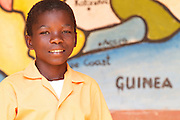 Tetteh Noah is a member of the Cadbury Cocoa Patrnership reading club at the Mbaem community school in the eastern region of Ghana.