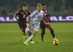 December 26, 2018 - Turin, Piedmont, Italy - Antonino La Gumina of Empoli during the Serie A football match between Torino FC and Empoli FC at Olympic Grande Torino Stadium on December 26, 2018 in Turin, Italy..Torino won 3-0 over Empoli. (Credit Image: © Massimiliano Ferraro/NurPhoto via ZUMA Press)