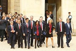 September 15, 2017 - Paris, France, France - Tony Estanguet - Anne Hidalgo - Valerie Pecresse - Guy Drut - Bernard Lapasset - Thierry Rey (Credit Image: © Panoramic via ZUMA Press)