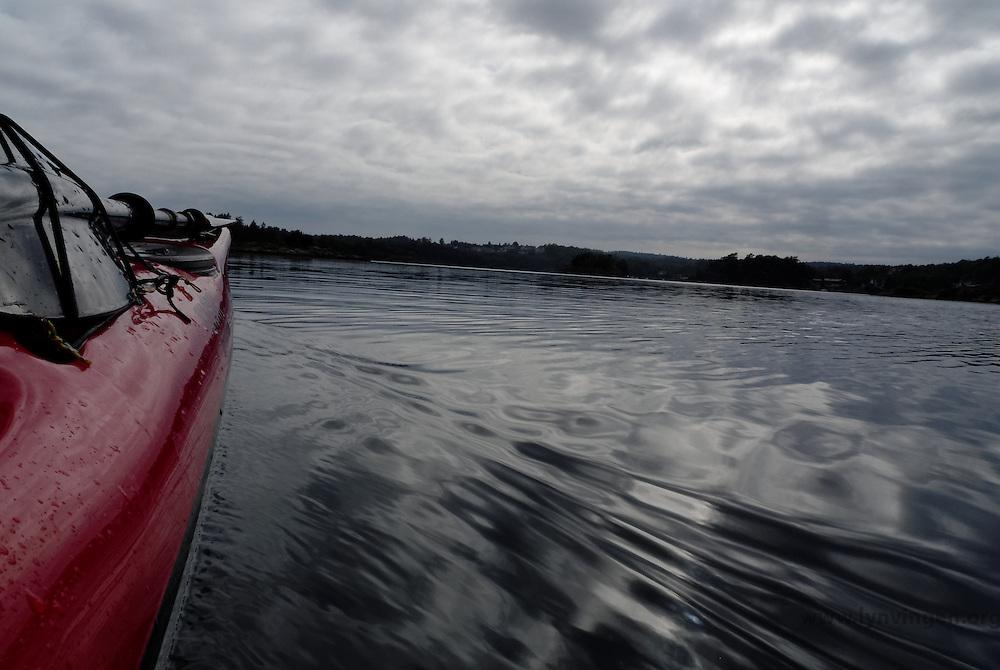 Kayaking Eikelandsfjorden