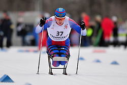 DAVIDOVICH Aleksandr, RUS at the 2014 IPC Nordic Skiing World Cup Finals - Sprint