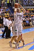 DESCRIZIONE : Supercoppa 2015 Semifinale Dinamo Banco di Sardegna Sassari - Grissin Bon Reggio Emilia<br /> GIOCATORE : Rimantas Kaukenas<br /> CATEGORIA : Tiro Riscaldamento Before Pregame<br /> SQUADRA : Grissin Bon Reggio Emilia<br /> EVENTO : Supercoppa 2015<br /> GARA : Dinamo Banco di Sardegna Sassari - Grissin Bon Reggio Emilia<br /> DATA : 26/09/2015<br /> SPORT : Pallacanestro <br /> AUTORE : Agenzia Ciamillo-Castoria/L.Canu
