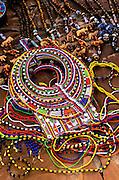 Image of native crafts at the Masai Mara National Reserve in Kenya