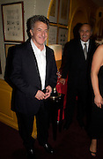 Dustin Hoffman. Artists Independent Networks  Pre-BAFTA Party at Annabel's co hosted by Charles Finch and Chanel. Berkeley Sq. London. 11 February 2005. . ONE TIME USE ONLY - DO NOT ARCHIVE  © Copyright Photograph by Dafydd Jones 66 Stockwell Park Rd. London SW9 0DA Tel 020 7733 0108 www.dafjones.com
