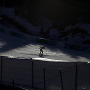 Winter Olympics, Vancouver, 2010.Emily Brydon, Canada, in action in the Alpine Skiing Ladies downhill at Whistler Creekside, Whistler, during the Vancouver  Winter Olympics. 17th February 2010. Photo Tim Clayton