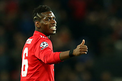 Paul Pogba of Manchester United - Mandatory by-line: Robbie Stephenson/JMP - 13/03/2018 - FOOTBALL - Old Trafford - Manchester, England - Manchester United v Sevilla - UEFA Champions League Round of 16 2nd Leg