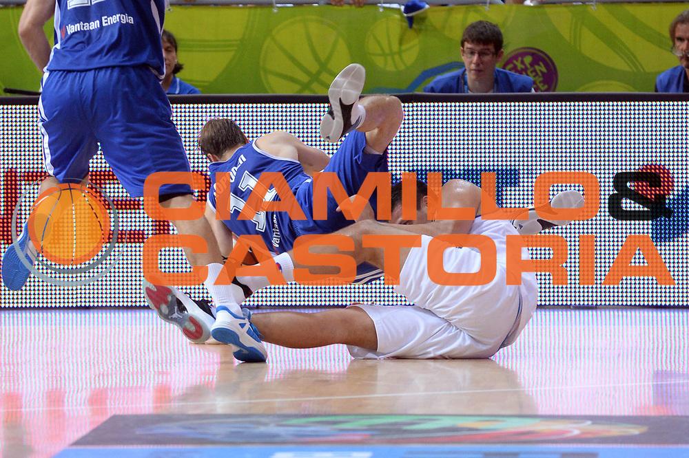 DESCRIZIONE : Capodistria Koper Slovenia Eurobasket Men 2013 Preliminary Round Italia Finlandia Italy Finland<br /> GIOCATORE : Petteri Koponen<br /> CATEGORIA : Equilibrio Controcampo Sequenza<br /> SQUADRA : Finlandia<br /> EVENTO : Eurobasket Men 2013<br /> GARA : Italia Finlandia Italy Finland<br /> DATA : 07/09/2013<br /> SPORT : Pallacanestro&nbsp;<br /> AUTORE : Agenzia Ciamillo-Castoria/Max.Ceretti<br /> Galleria : Eurobasket Men 2013 <br /> Fotonotizia : Capodistria Koper Slovenia Eurobasket Men 2013 Preliminary Round Italia Finlandia Italy Finland<br /> Predefinita :