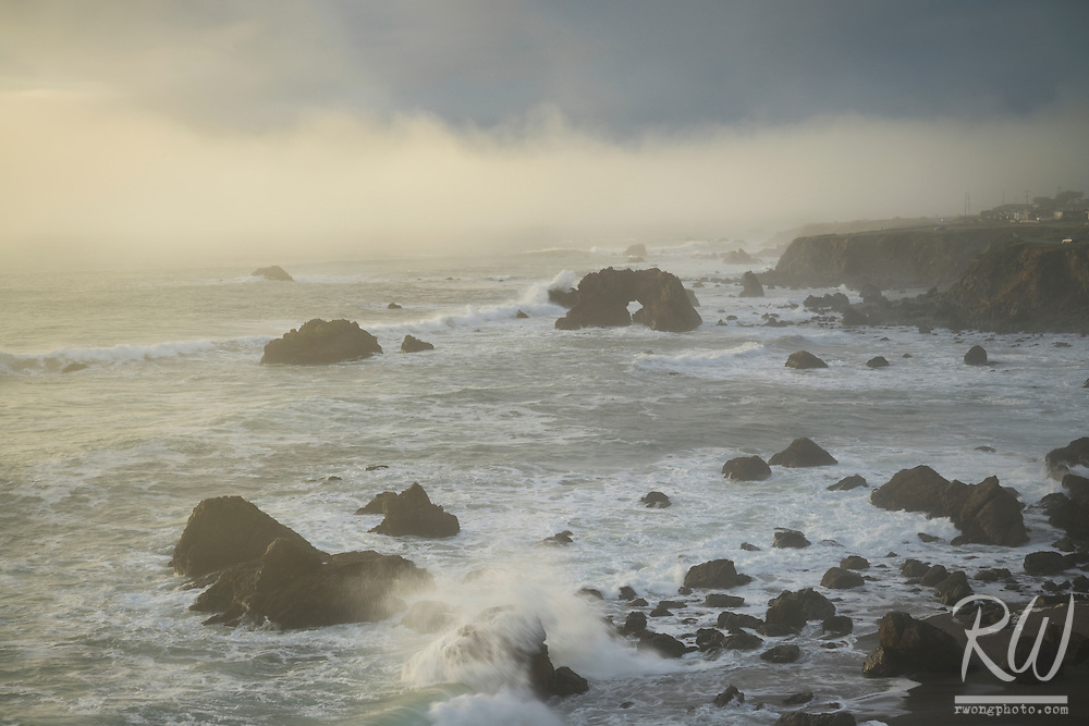 Arched Rock Beach, Sonoma Coast SB, California
