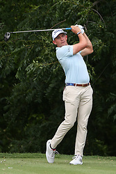 May 23, 2019 - Forth Worth, TX, U.S. - FORTH WORTH, TX - MAY 23: Scott Stallings hits from the 6th tee during the first round of the Charles Schwab Challenge on May 23, 2019 at Colonial Country Club in Fort Worth, TX. (Photo by George Walker/Icon Sportswire) (Credit Image: © George Walker/Icon SMI via ZUMA Press)