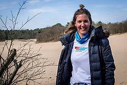 18-03-2018 NED: We hike to change diabetes, Soest<br /> Training voor de Camino 2018 op de Soesterduinen / Miranda