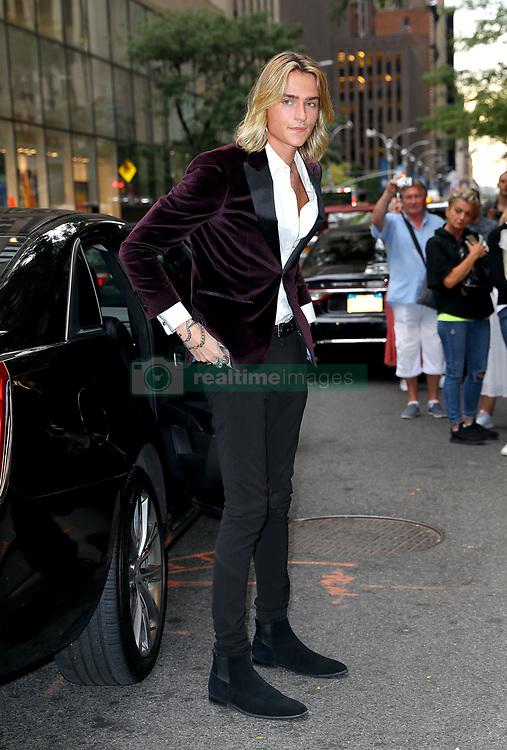 September 6, 2019, New York, New York, United States: September 5, 2019 New York City....Luke Eisner attending The Daily Front Row Fashion Media Awards on September 5, 2019 in New York City  (Credit Image: © Jo Robins/Ace Pictures via ZUMA Press)