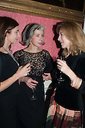 BELINDA BAMBER; CRISTABEL KENT; ROWAN PELLING, The Literary Review Bad Sex in Fiction Award 2013. The In and Out Club, 4 St. james's Sq. London. 3 December 2013