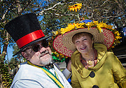 Jim Gelarden and Claudia Lynch; St. Catherine's Day Hat Parade