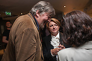 STEPHEN FRY; DEBBIE TOKSVIG; , BULLY BOY by Sandi Toksvig, St. James Theatre, 12 Palace Street, London. 19 September 2012