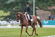 HERBST GOLDEN ECLIPSE ridden by Arthur Duffort (France) at Bramham International Horse Trials 2016 at Bramham Park, Bramham, United Kingdom on 10 June 2016. Photo by Mark P Doherty.