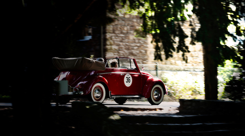 VW  is participating in Bensberg classic rally