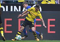 v.l. Mitchell Weiser, Maximilian Philipp (Dortmund)<br /> Dortmund, 26.08.2017, Fussball Bundesliga, Borussia Dortmund - Hertha BSC Berlin 2:0<br /> Norway only