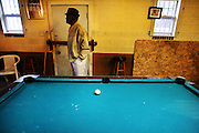 "galmh ""A Bridge to Nowhere""---Ezekiel Bodrick's Last Stop Convenience Store opens at 6 p.m. and stays open to 11 p.m., ""if the boys come to shoot pool."" The coolers hold beer and eggs; the jukebox in the back plays ""The Best of BB King."""