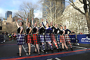 Celtic dancers perform at the start of the 12th annual Scotland Run in New York's Central Park to kick off Scotland Week festivities, Saturday, April 4, 2015.  (Photo by Diane Bondareff/Invision for Scottish Government/AP Images)