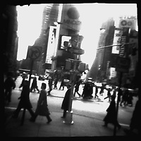 Times Square in Passing