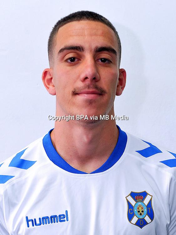 Spain - La Liga B 123 _ 2016-2017 / <br /> ( Club Deportivo Tenerife ) - <br /> Oscar Gonzalez Hernandez &quot; Oscar Gonzalez &quot;