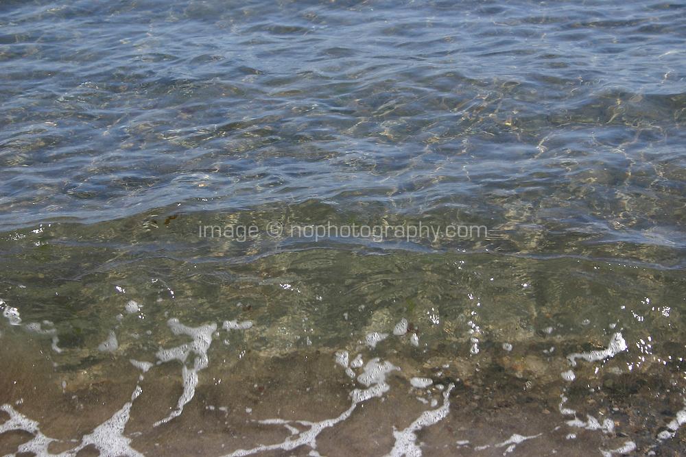 Irish sea, shallow watre